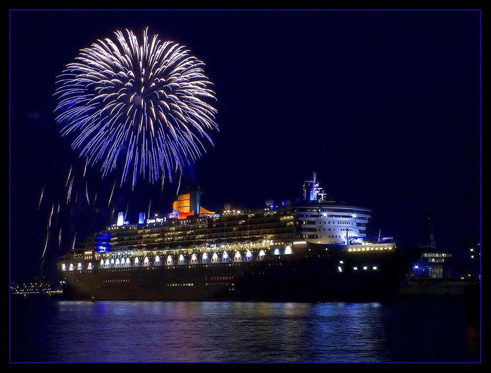 Queen Mary 2 - Das Feuerwerk II.