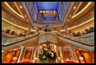 """Queen Mary 2 - die """"Grand Lobby"""""""