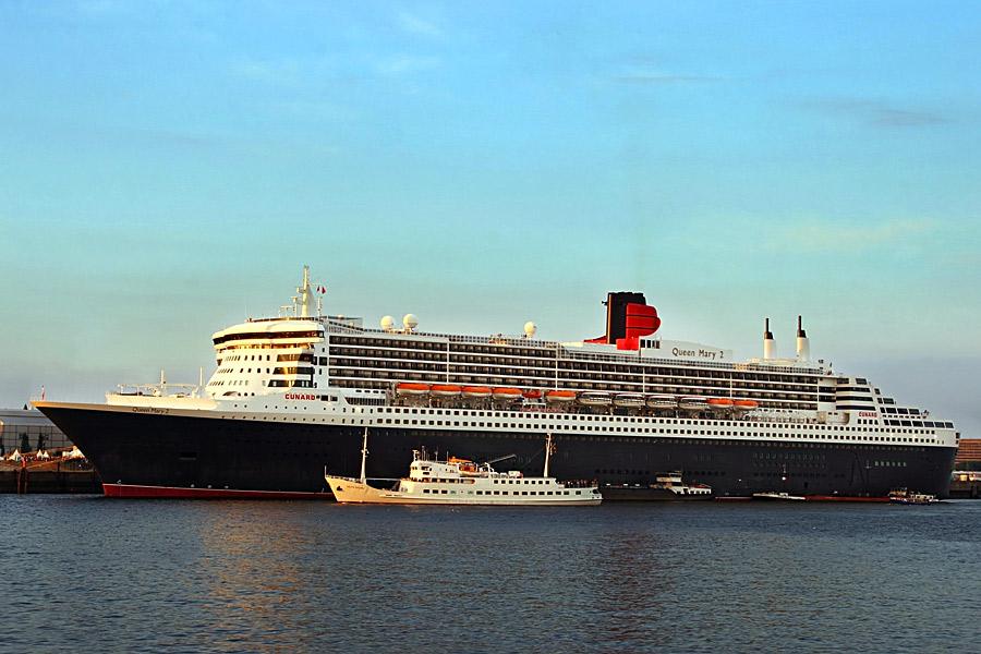 Queen Mary 2 - ein Koloss
