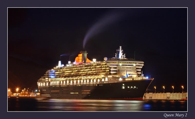 Queen Mary 2 etwas später