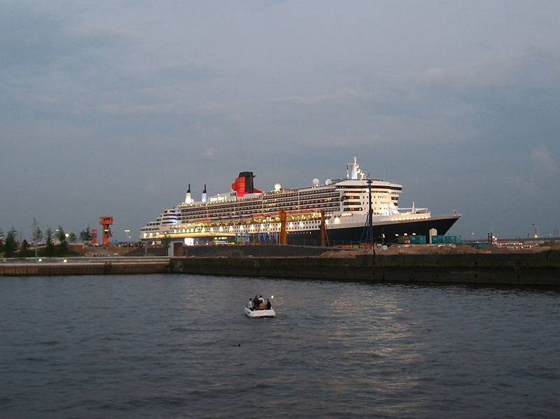 Queen Mary August 2007