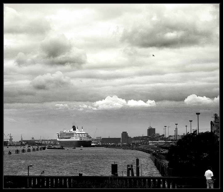 Queen Mary II mal anders..