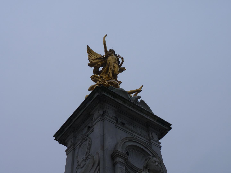 Queen victoria Monument .