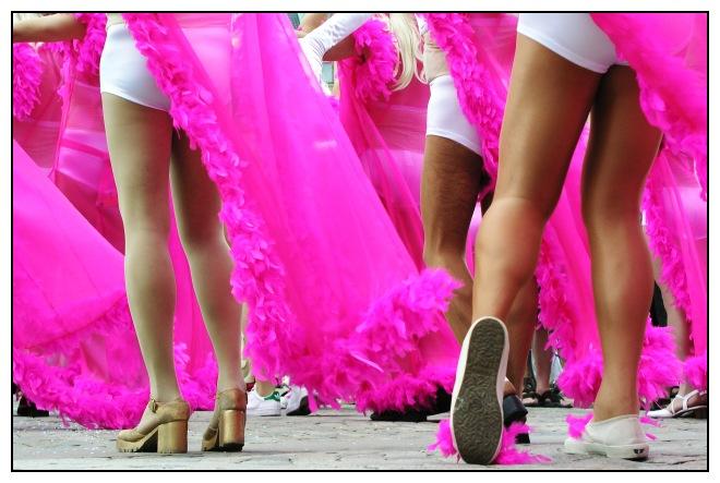 Queen's legs