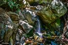 Quelle am Berghang