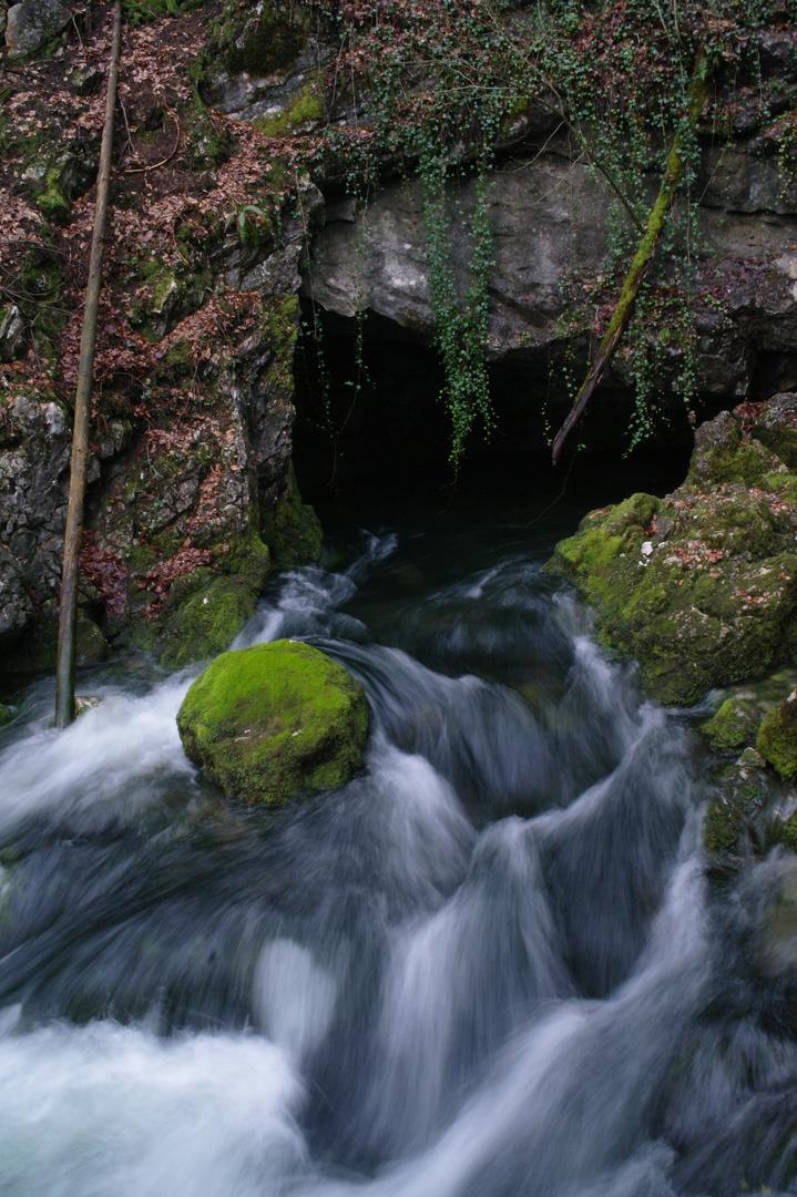 Quelle des Gollingerwasserfalls
