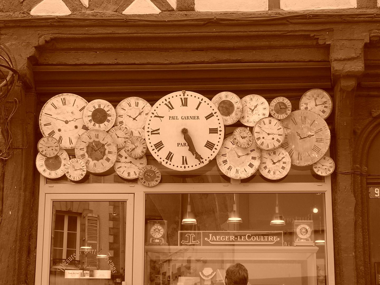 Quelle heure est -il ????