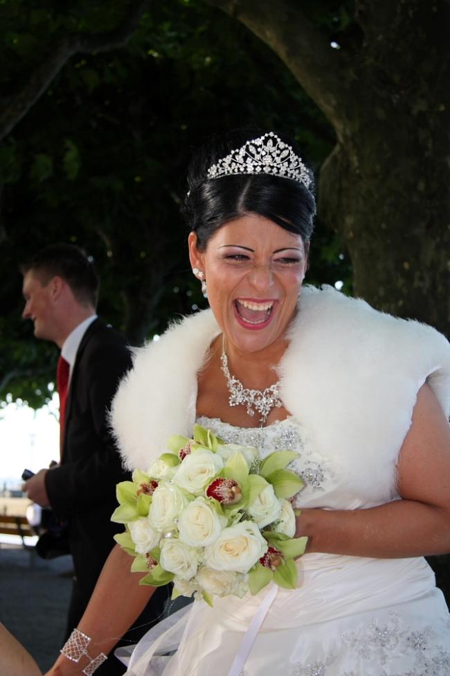 Quelle mariée !!