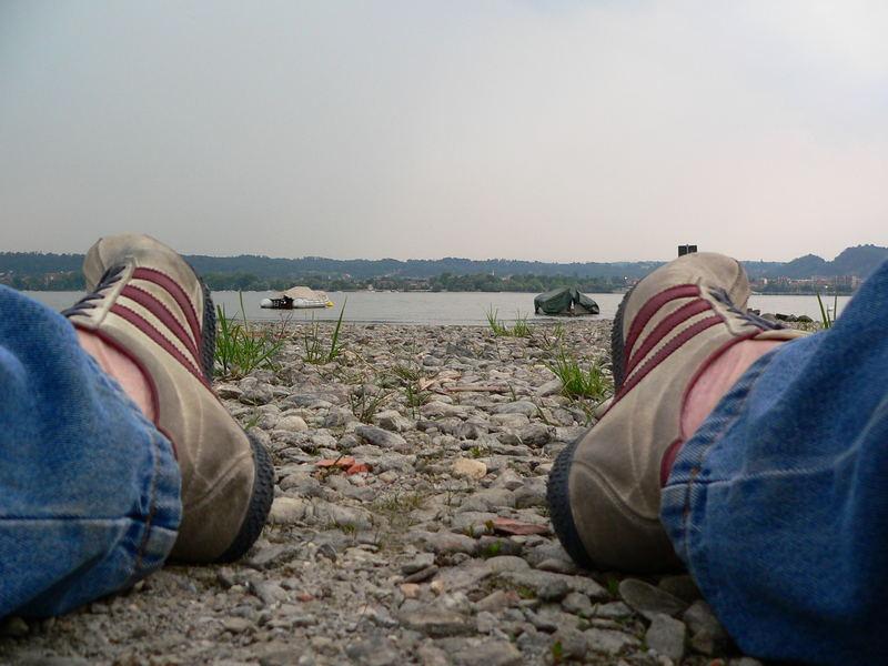 Quello che di bello i nostri piedi non vedono mai............