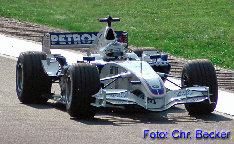 Quick Nick mit F1 BMW auf der Nordschleife