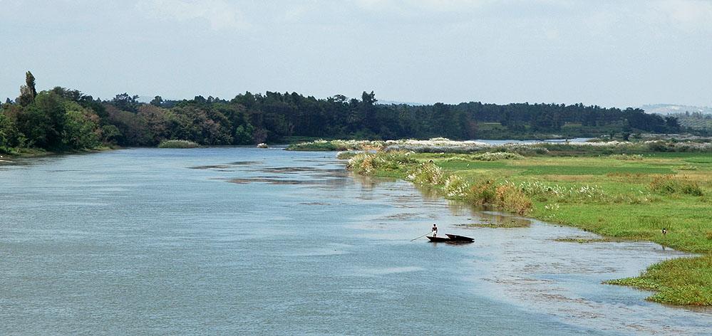Quiet flows the River Cauvery
