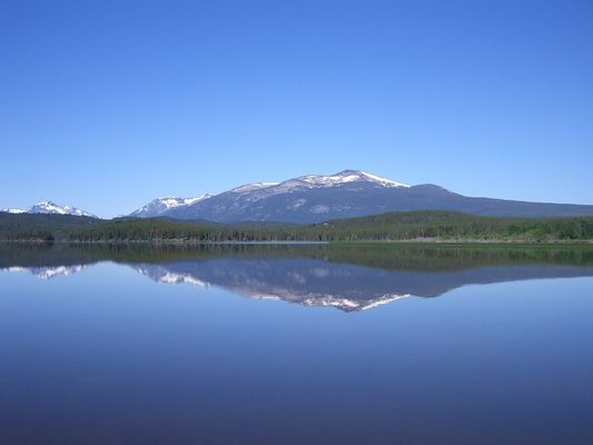 Quiet Lake in Canada