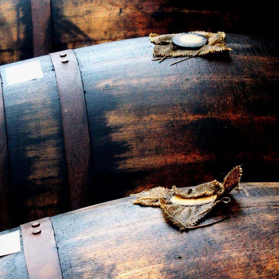 Quiet please - whisky sleeping -