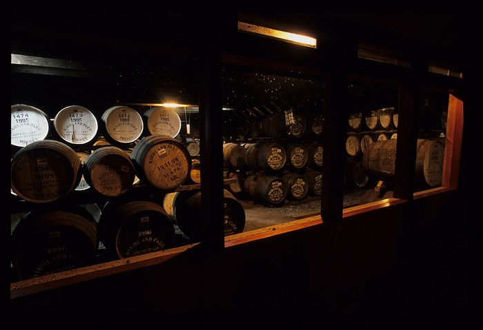 quiet -- whisky sleeping