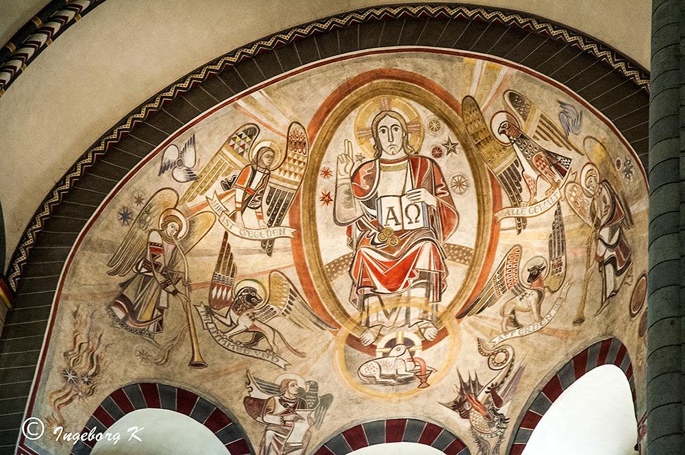 Quirinus-Münster - Wandgemälde