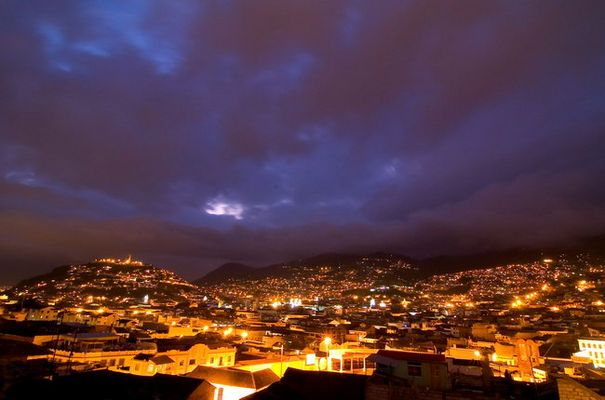 Quito am Abend