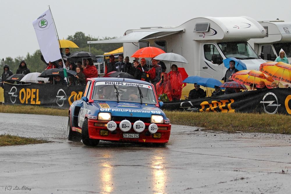 R5 im Regen