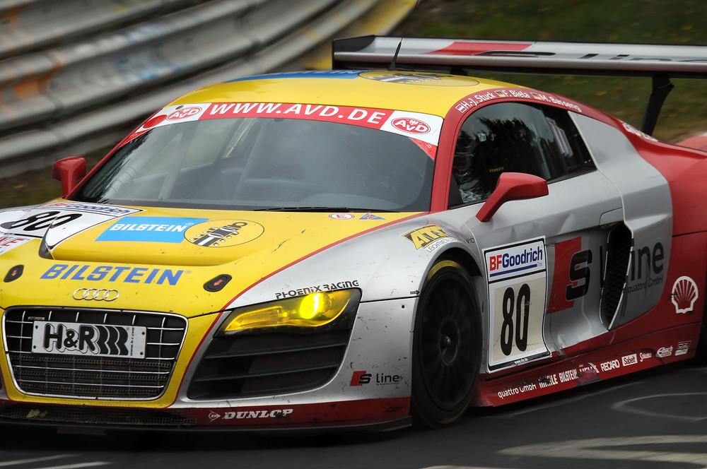 R8 beim Langstreckenpokal 2009
