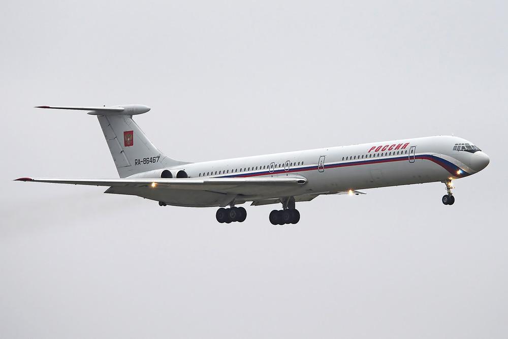 RA-86467 Ilyushin IL-62M, Russia State Transport Company