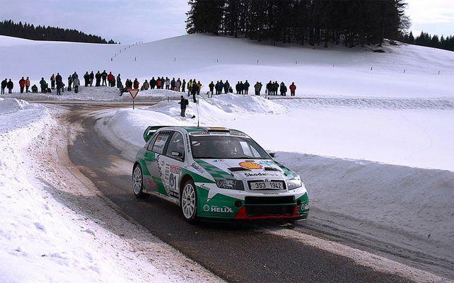 Race on snow
