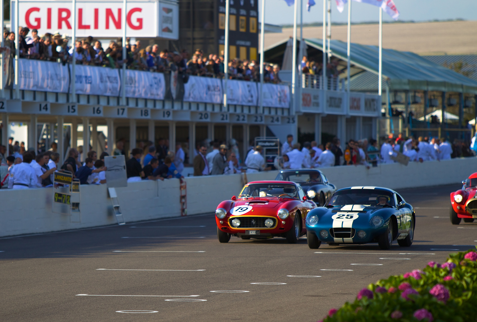 Racing at it`s best........