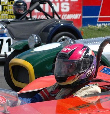 Racing at Manfield