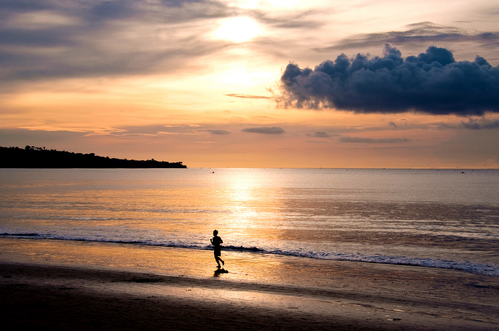 Racing the sun - Tão longe e tão perto — Bali, Jimbaran