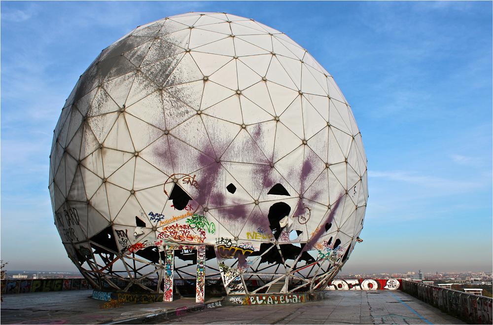 """ Radarstation Teufelsberg "" ( 6 )"