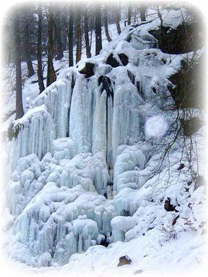 Radauwasserfall im Winter