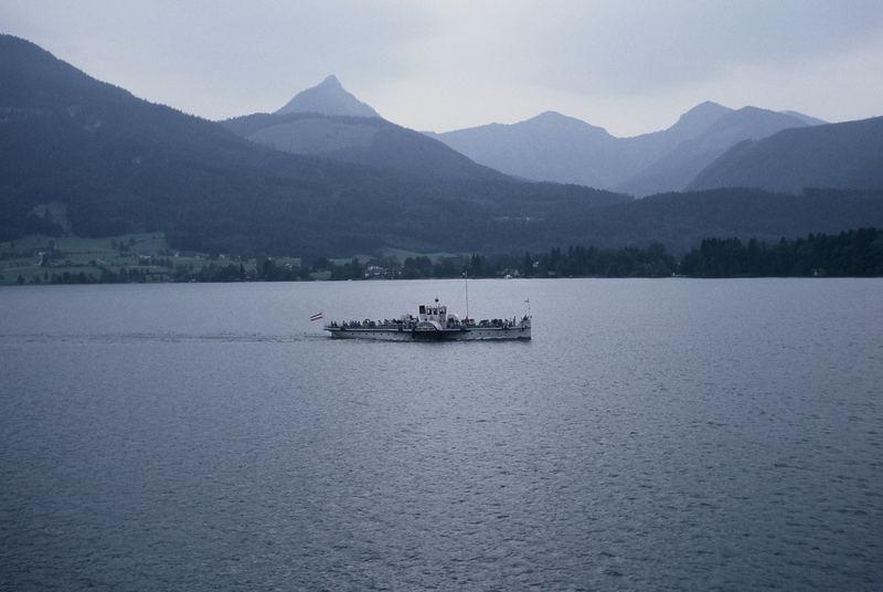 Raddampfer am Wolfgangsee