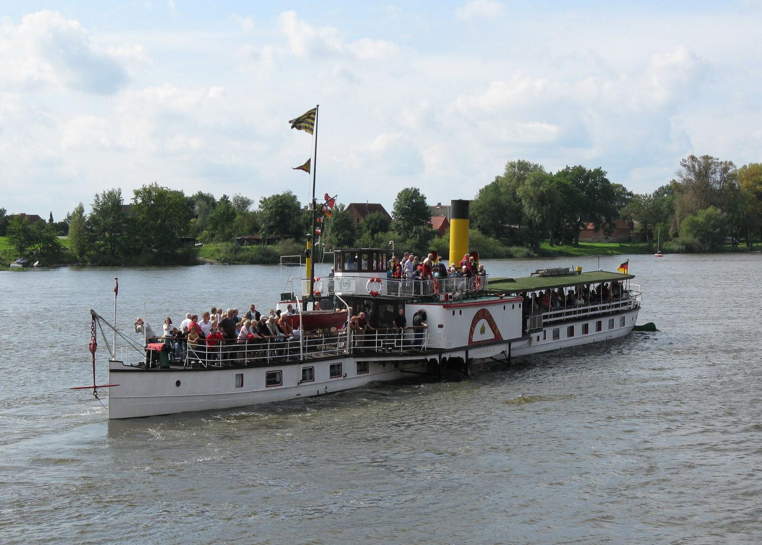 Raddampfer Kaiser-Wilhelm