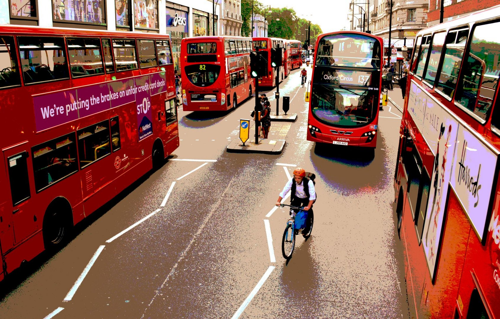 Radfahren in London
