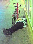 Radfahren macht müde