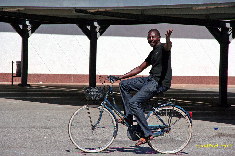 Radfahrer auf Malle 2009