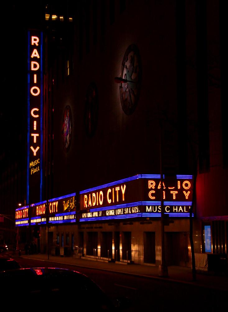 radio city music hall - new york