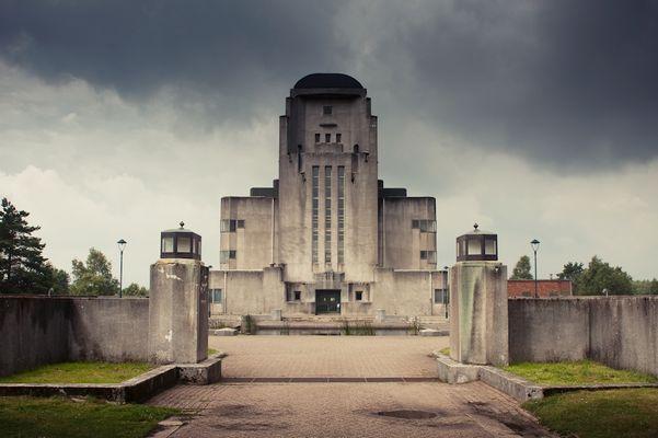Radio Kootwijk eingang (Niederlanden)
