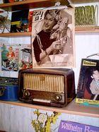 Radiohören 1954 in Einbeck