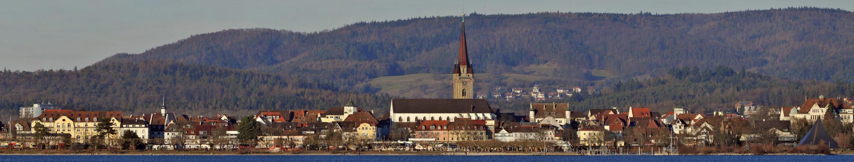 Radolfzell am Bodensee Anfang Februar
