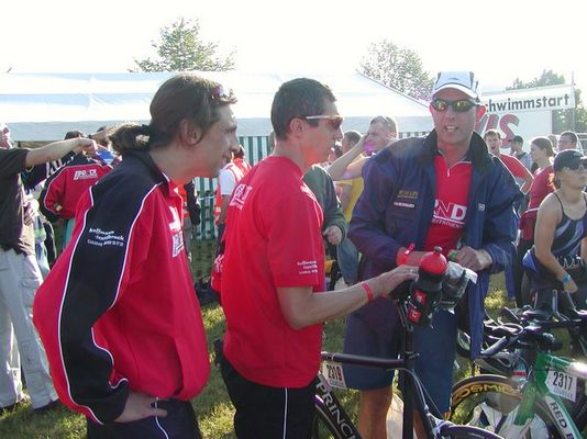 Radpark beim Quelle Challenge 2005 Roth Drücker & ZABO