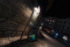 Radreifenlampenreflektionammahnmalinregensburg