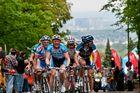 Radrennen rund um den Finanzplatz Eschborn