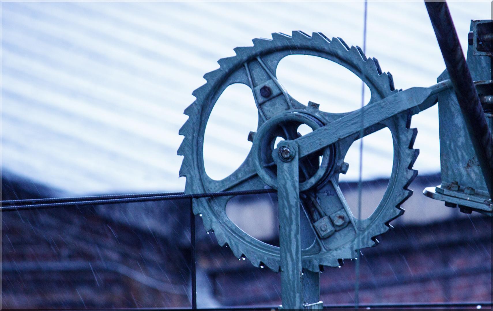 Radspannwerk