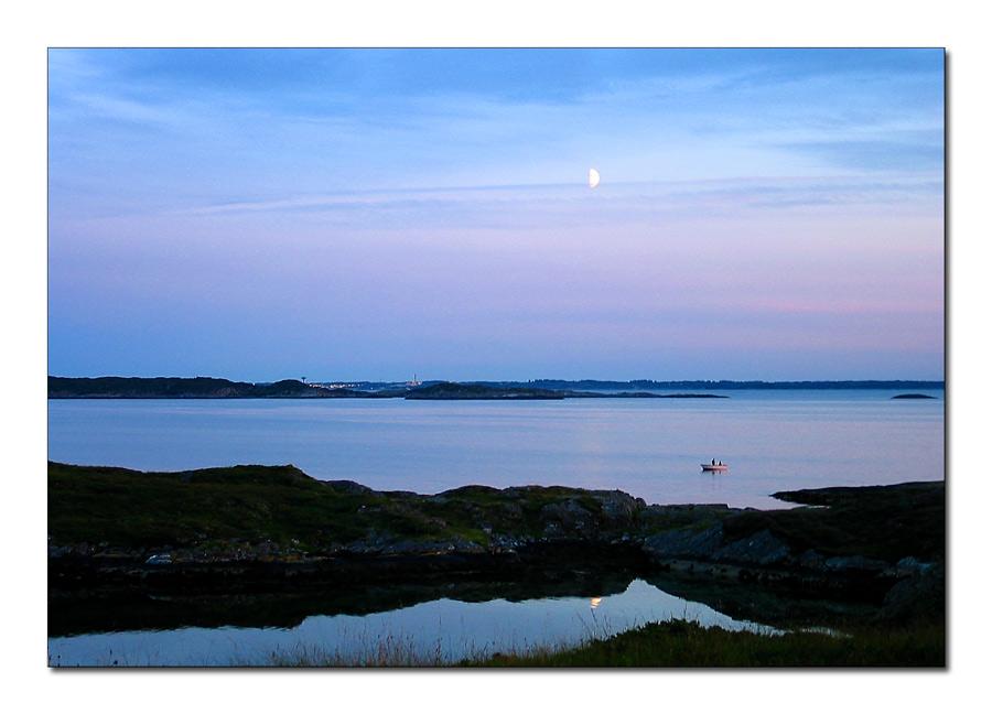 Radøy 3 - Mondaufgang