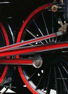 Räderausschnitt einer Dampflock Baureie 01
