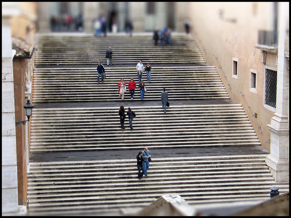 Rätsel: wo befindet sich diese Treppe?