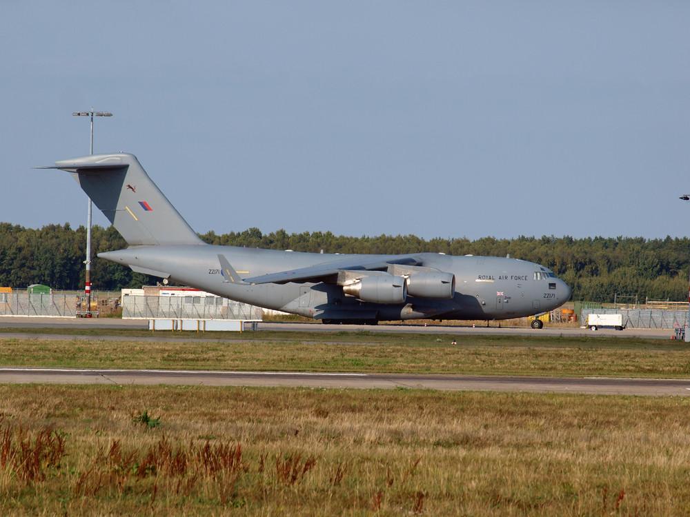 RAF/ Boing C-17A Globemaster III