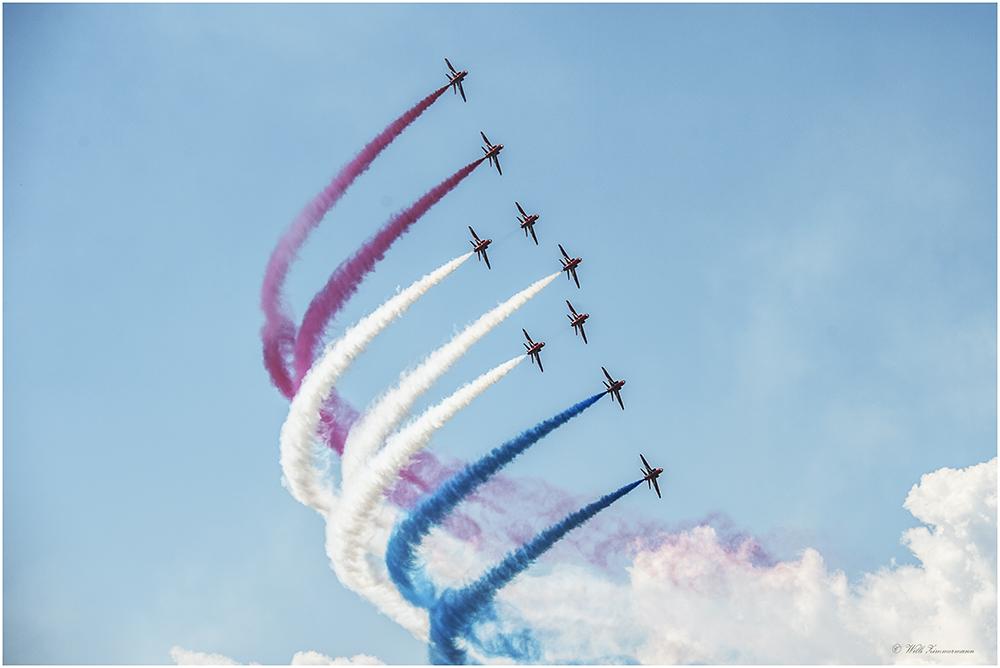 RAF Red Arrows- Royal - Air Force -2-