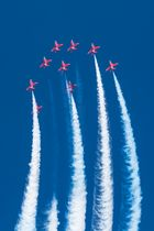 RAF Red Arrows Straight UP