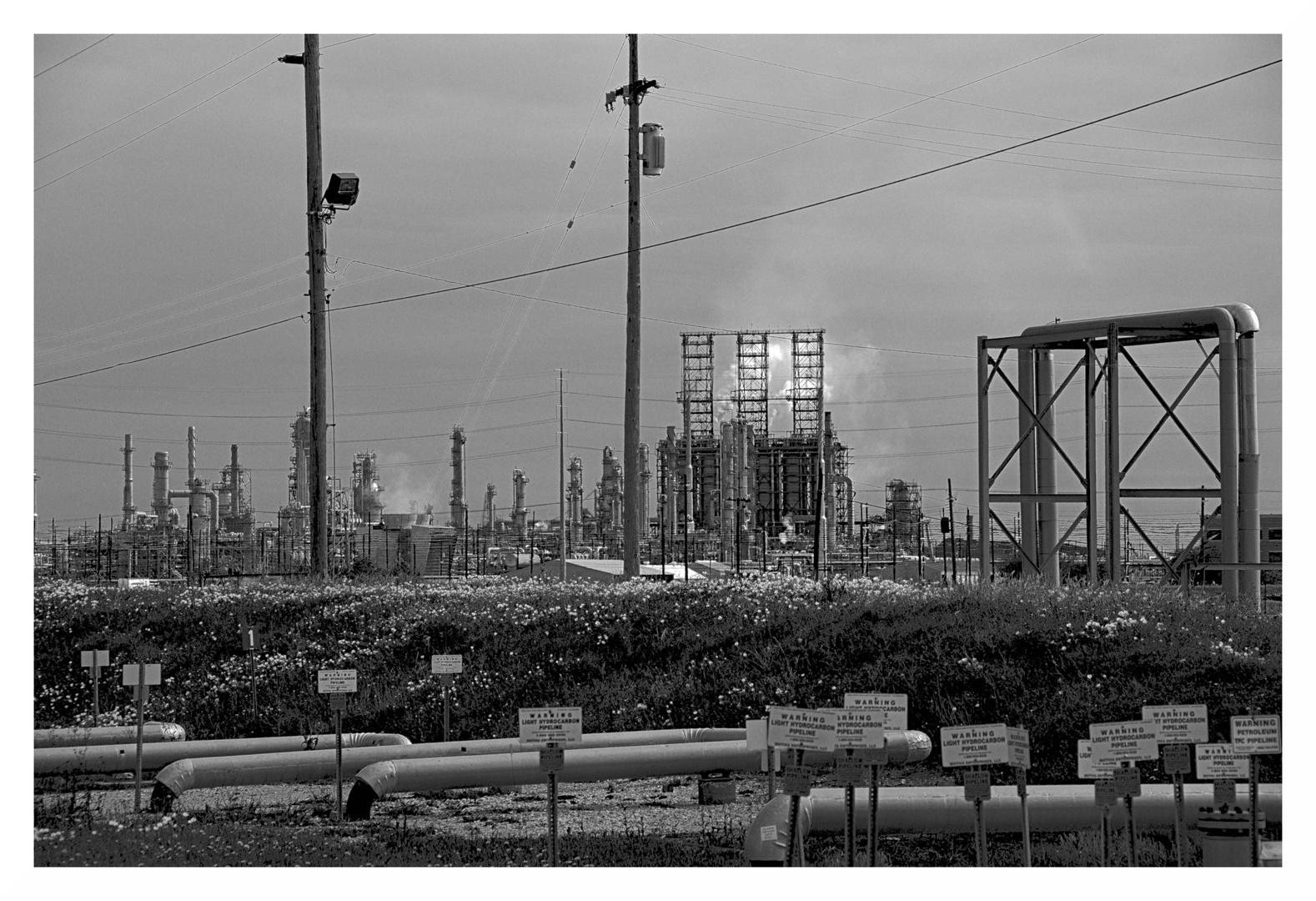 Raffinerie in Texas