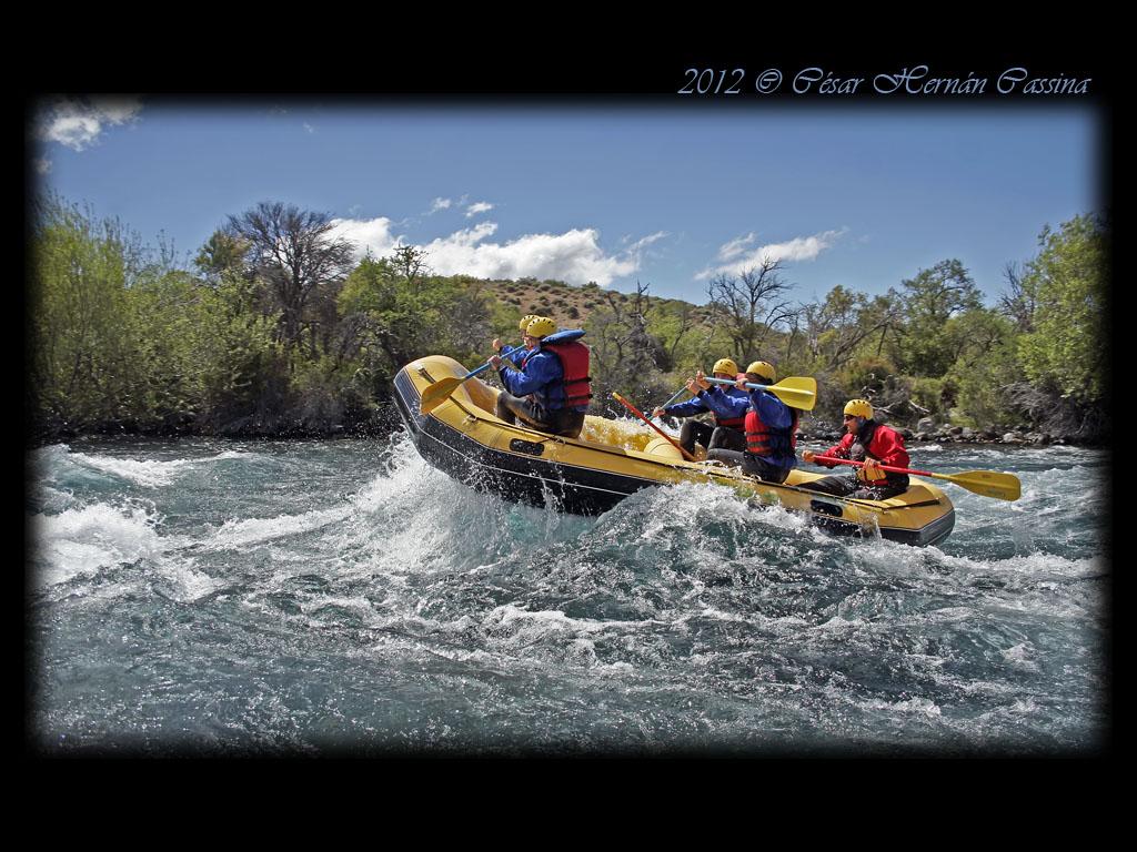 Rafting Chimehuin